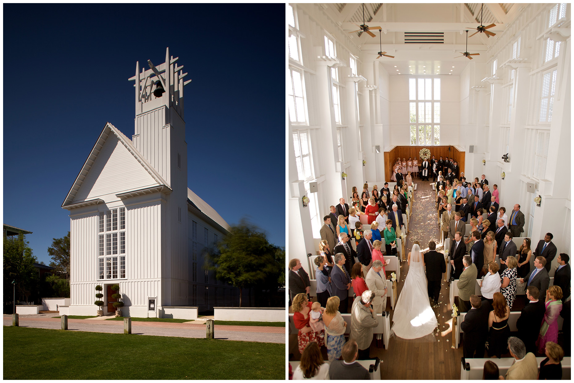 Jensen Larson Photography | Seaside Interfaith Chapel Wedding